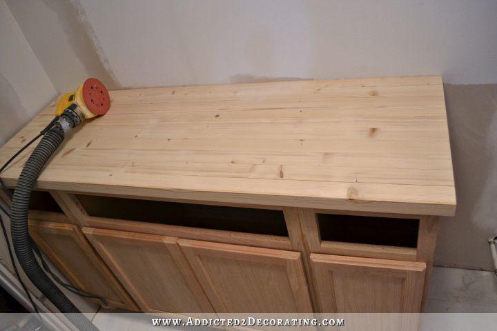 Diy Butcher Block Countertop Made For Under 30 Butcher Block