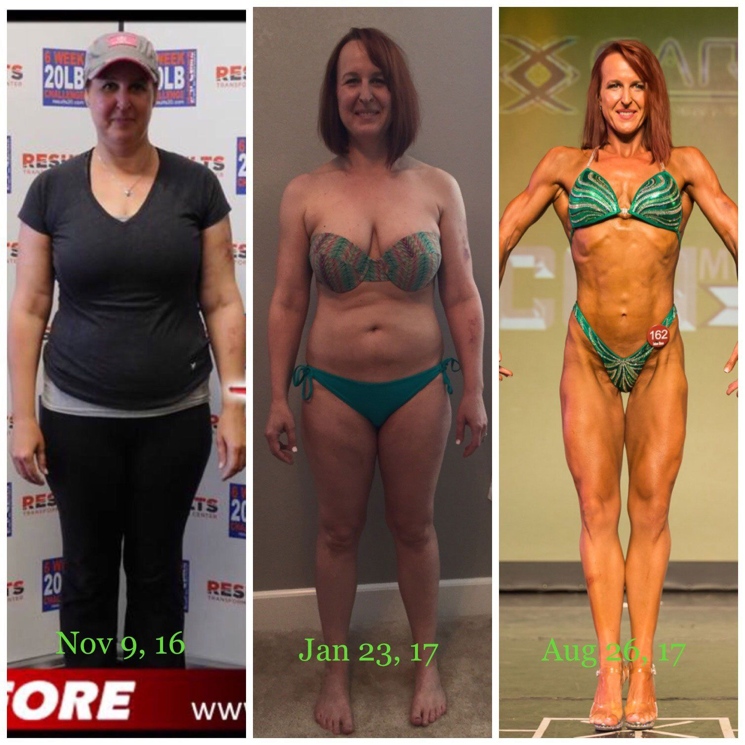From Yo-Yo Dieter to Figure Competitor This Is How Mary Transformed Her Body