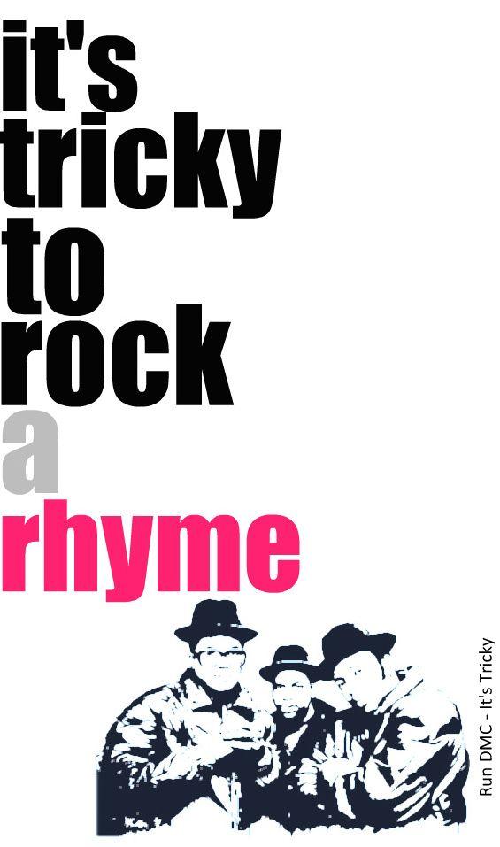 Run DMC - It's Tricky - Lyrics | Lyrics | Pinterest | Hip hop ...