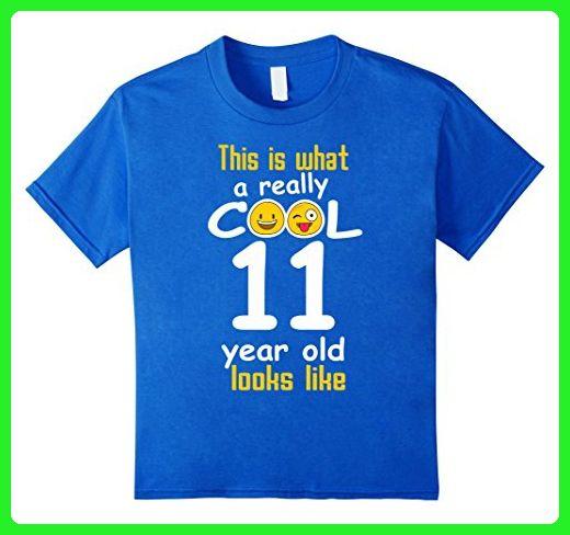 Kids 11th Birthday Gift Shirt A Really Cool 11 Year Old Tshirt 6 Royal Blue
