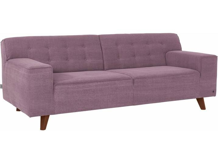 Tom Tailor Zwei Sitzer Nordic Chic Lila Hoher Sitzkomfort Sofa Couch Decor