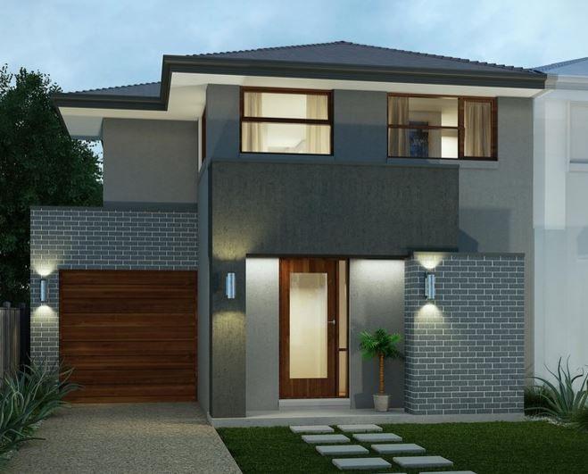 Fachadas de casas de color gris desenho casa pinterest for Fachadas de techos exteriores