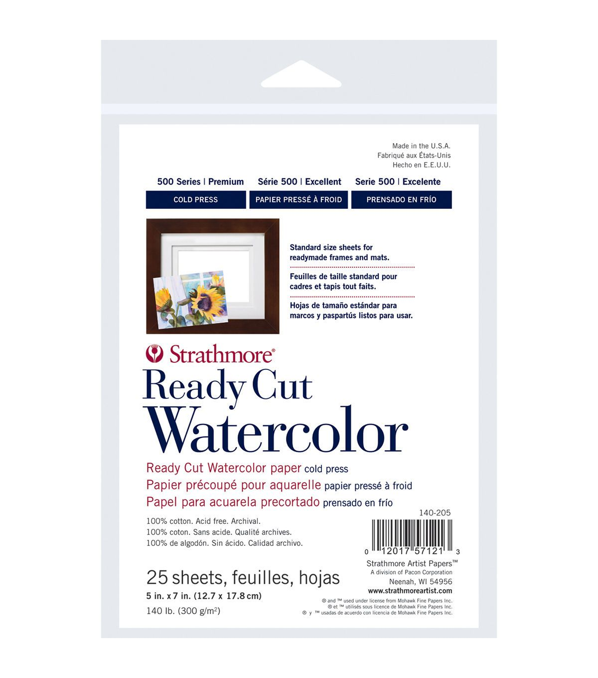 Strathmore Watercolor Paper Pack 5 X7 25 Sheets Watercolor