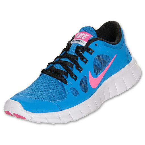 Girls Grade School Nike Free Run 5 Running Shoes