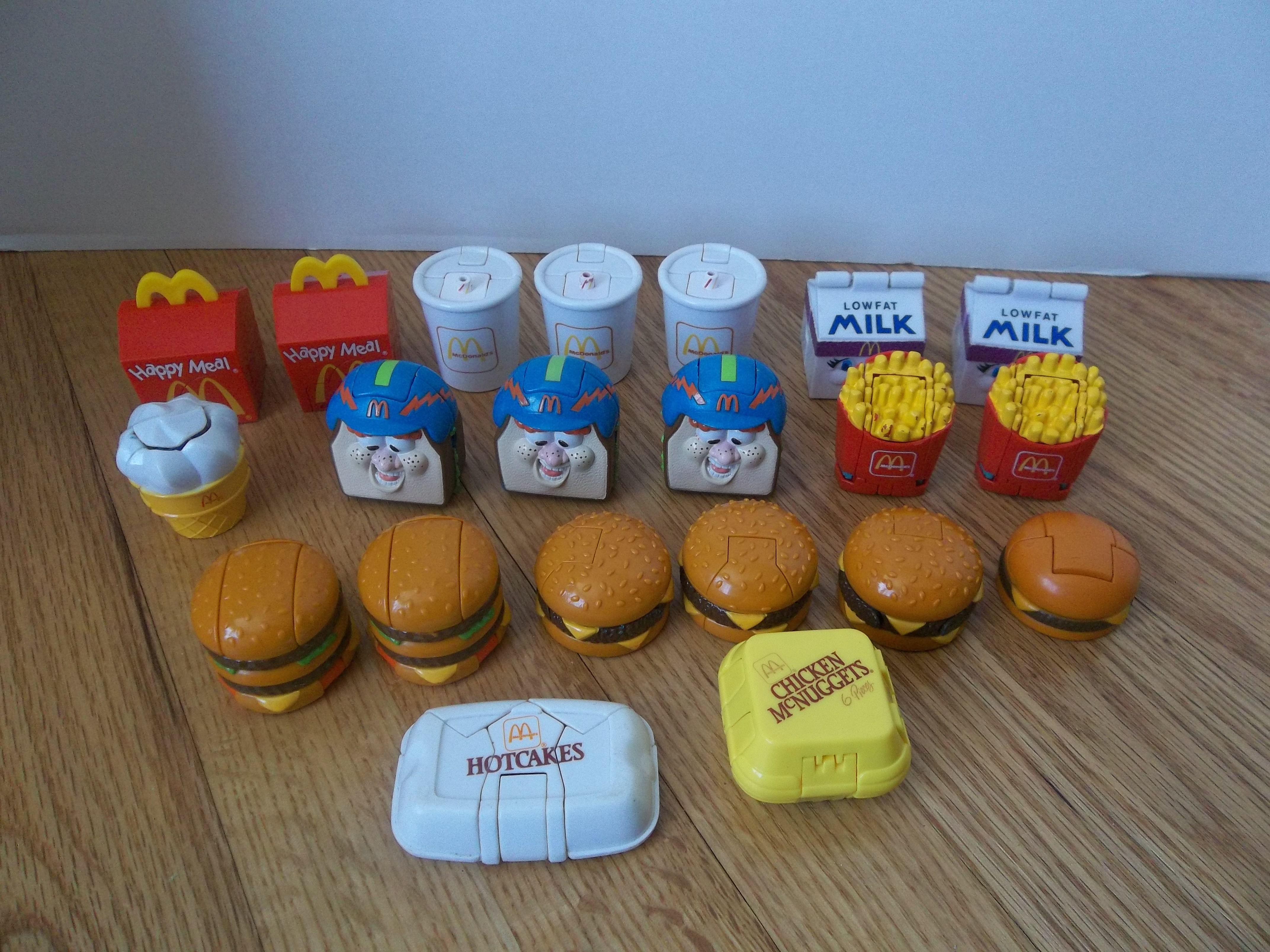 Mcdonald Food Transformer Toys Ebay Items For Sale