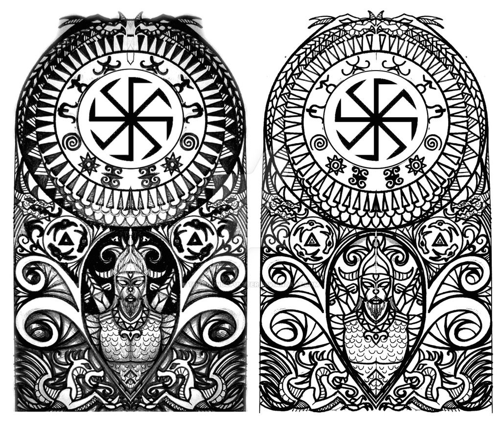 Scythian Tribal Half Sleeve Tattoo By Thehoundofulster Black Work