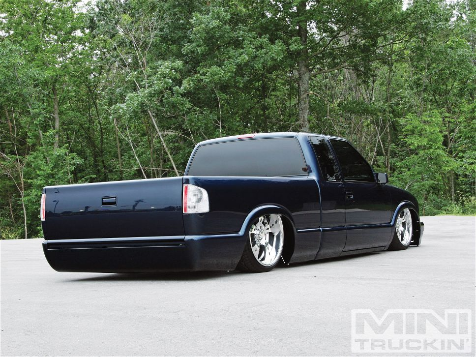 1995 Chevy S10 Custom Chevy Trucks Mini Truckin Magazine