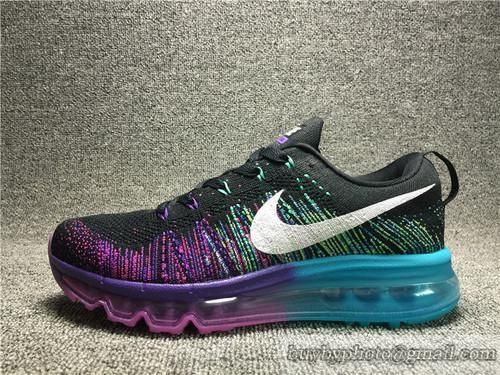 Women's NIKE Flyknit Air Max Running Shoes Authentic 620659