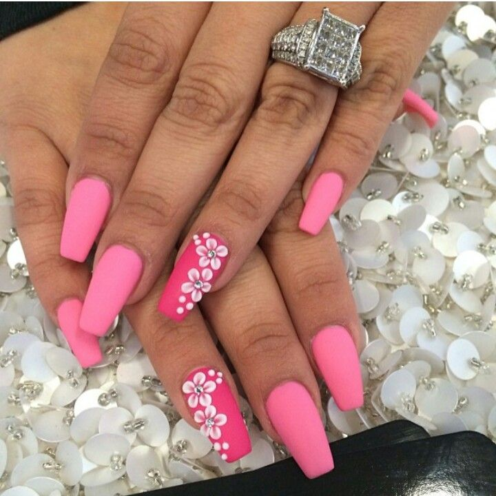 everything should be in pink ♥ by laque nail bar | Nails ...