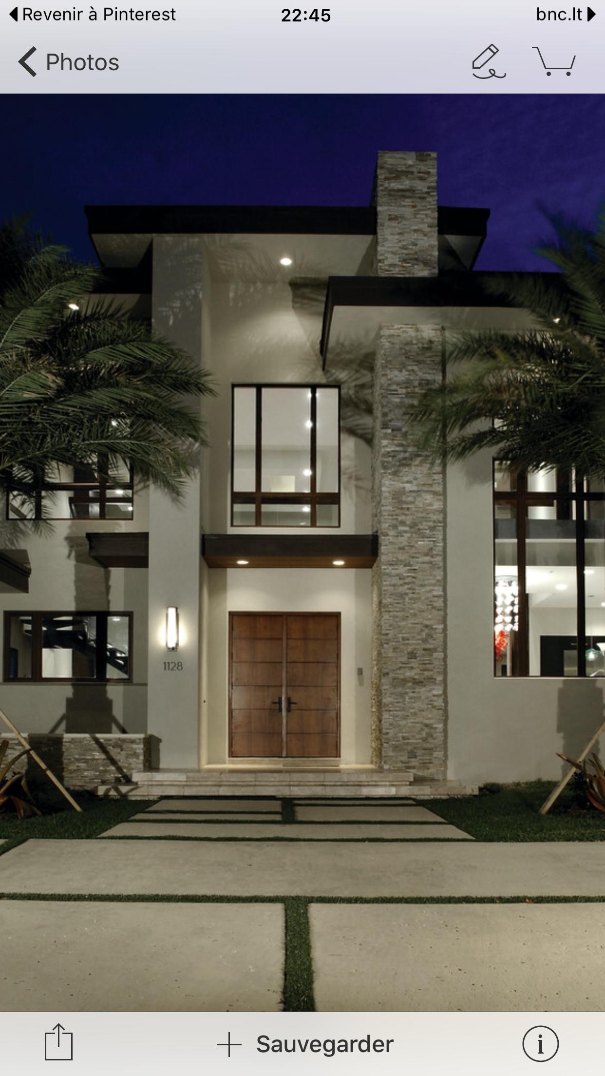 Design extérieur de la maison future maison façade maison plan maison architecture