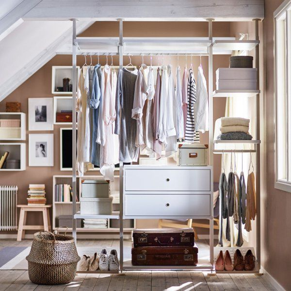 Dressing Ouvert : 6 Exemples Pour L'Adopter | Dressing Ouvert