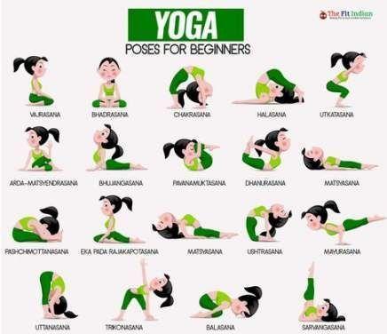 beste einfache ideen ilustration yoga best yoga