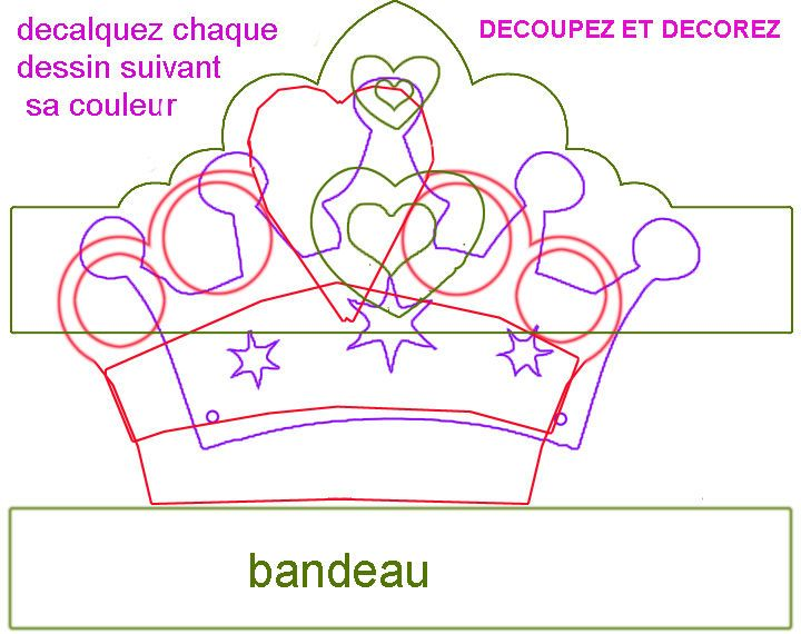 PATRON_DES_TIARES faaliyet Pinterest Paper crowns, Trier and