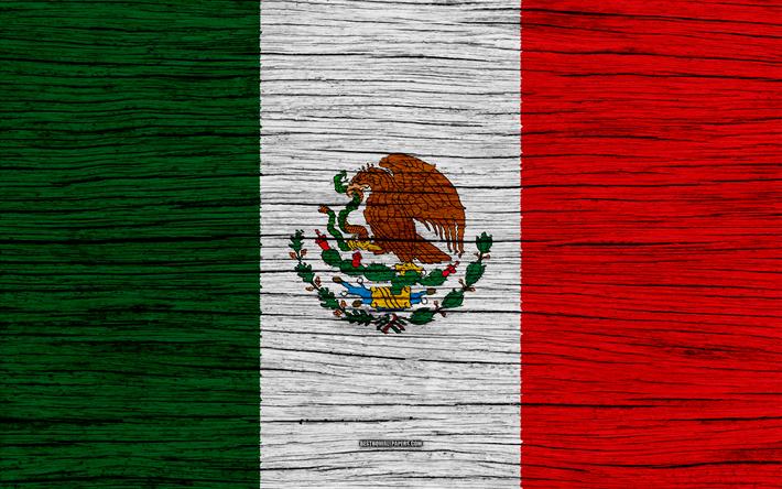 Descargar Fondos De Pantalla La Bandera De México, 4k