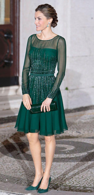 baea4b2ee373 Todos los  looks  de la reina Letizia durante su viaje oficial a ...