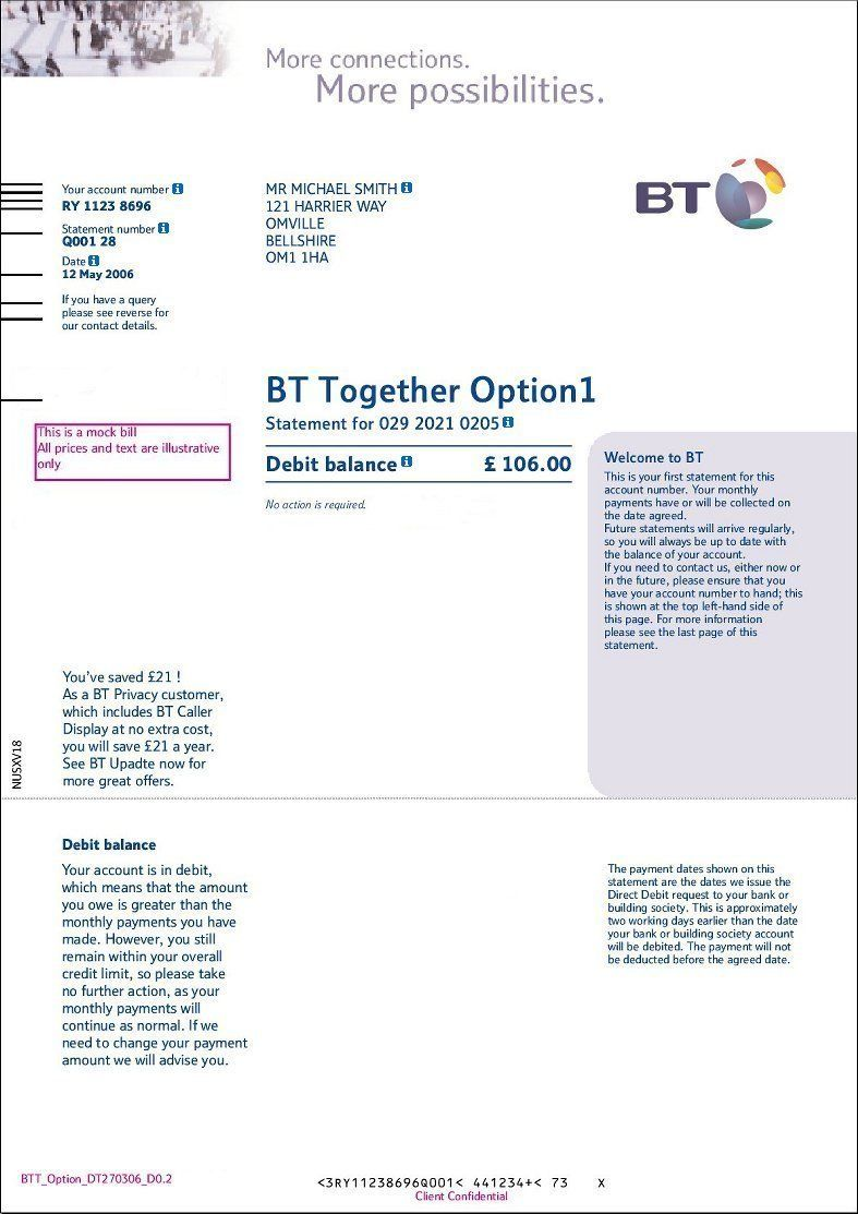 Bill Page 1 Jpg 787 1113 Ielts Driving License College Degree