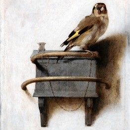 "I have always loved this ""The Goldfinch"" by Carel Fabritius (1622-1654) he was Rembrandt's most outstanding pupil"