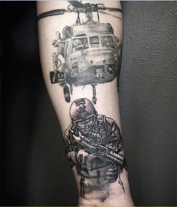 f92ed4b04fc65 Best 24 Military Tattoos Design For Men Tattoos Art Ideas | tats ...