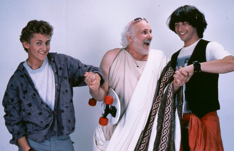 Bill And Ted And Socrates Coat Ted Lab Coat