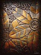 metal embossing | Metal Embossing Art - Copper Design by Joan Minchak