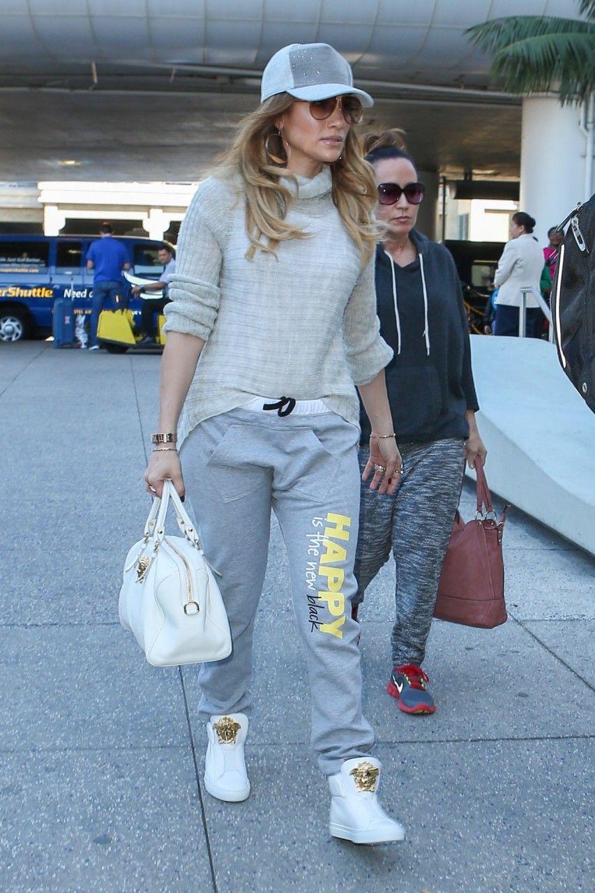 Jennifer Lopez Versace Medusa Duffle Bag 40f8d4259ee07
