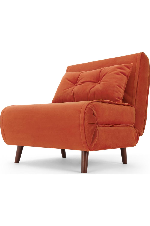 Made Schlafsofa Orange Couch Love Seat Home Decor