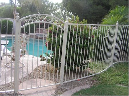 Pictures of Fences Types of Fences with Pictures Wrought Iron