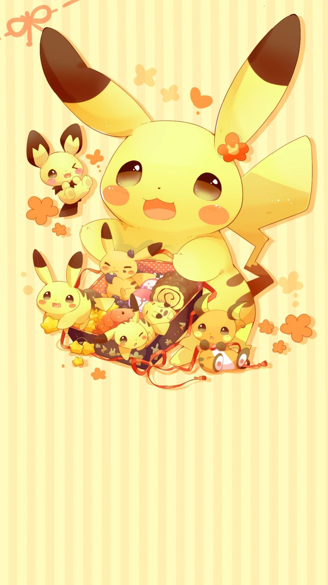 Pin By Aekkalisa On Pokemon Bg Pikachu Wallpaper Pikachu Art Pokemon Backgrounds