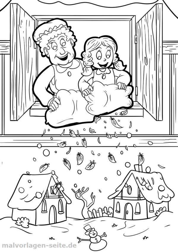 pin auf malvorlagen märchen