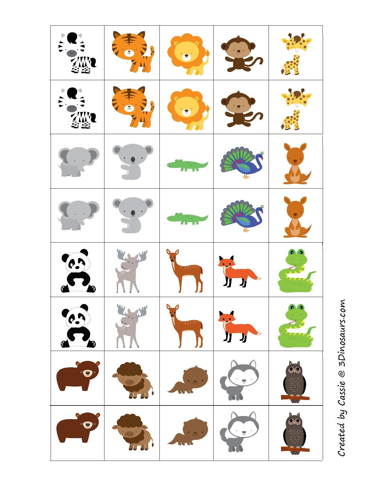 pingl par jana lond kov sur zvierat pinterest jeux memoire jeu et plastifieuse. Black Bedroom Furniture Sets. Home Design Ideas