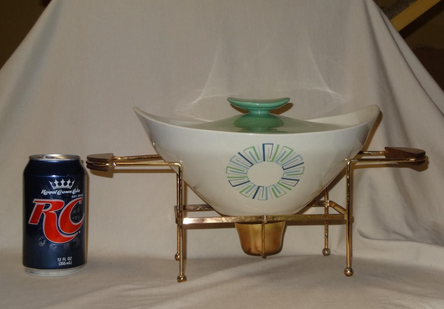 vintage chafing dish knowles china casserole buffet dish
