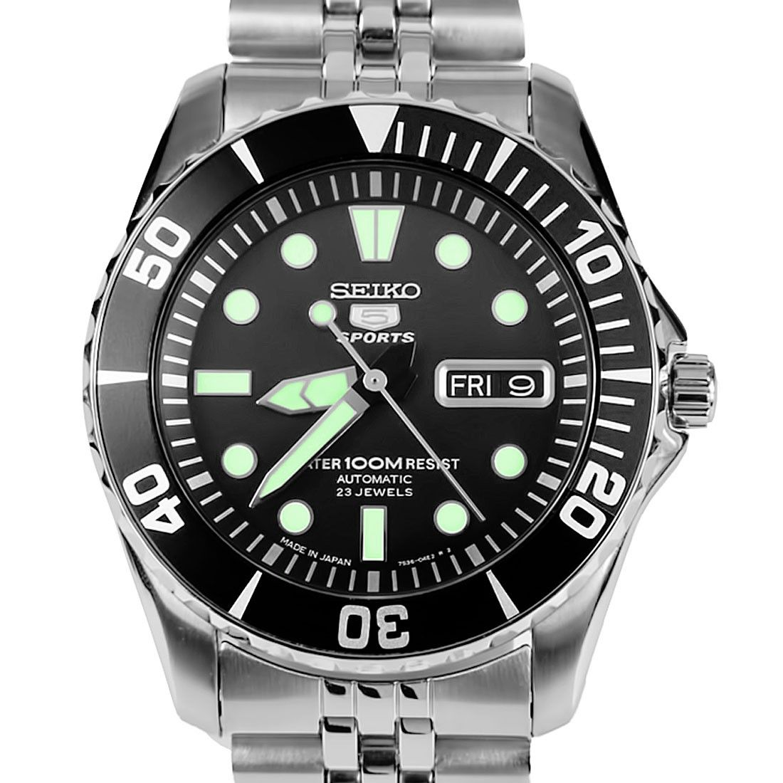 Seiko 5 Sports Automatic Mens Diving Watch SNZF17 SNZF17J
