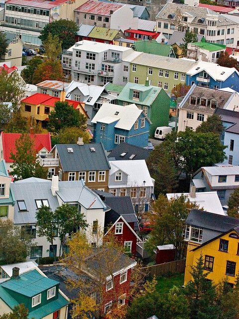 Casas en #Reykjavik #Islandia