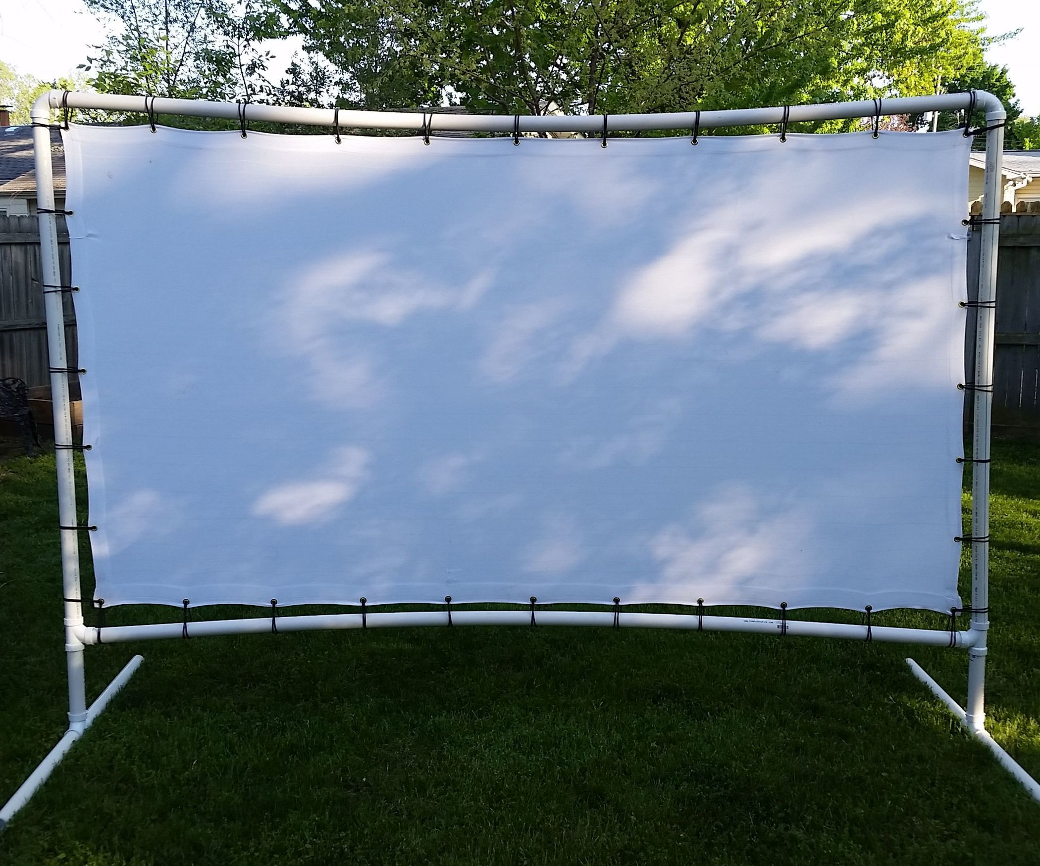 Backyard Movie Screen Backyard Movie Screen Outdoor Movie