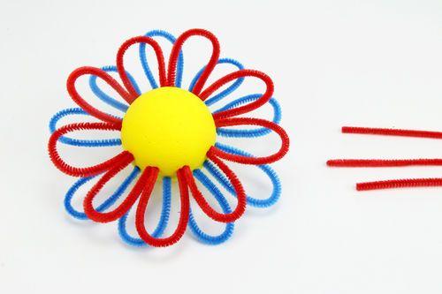 Petite fleur dans son pot - Activités enfantines - 10 Doigts