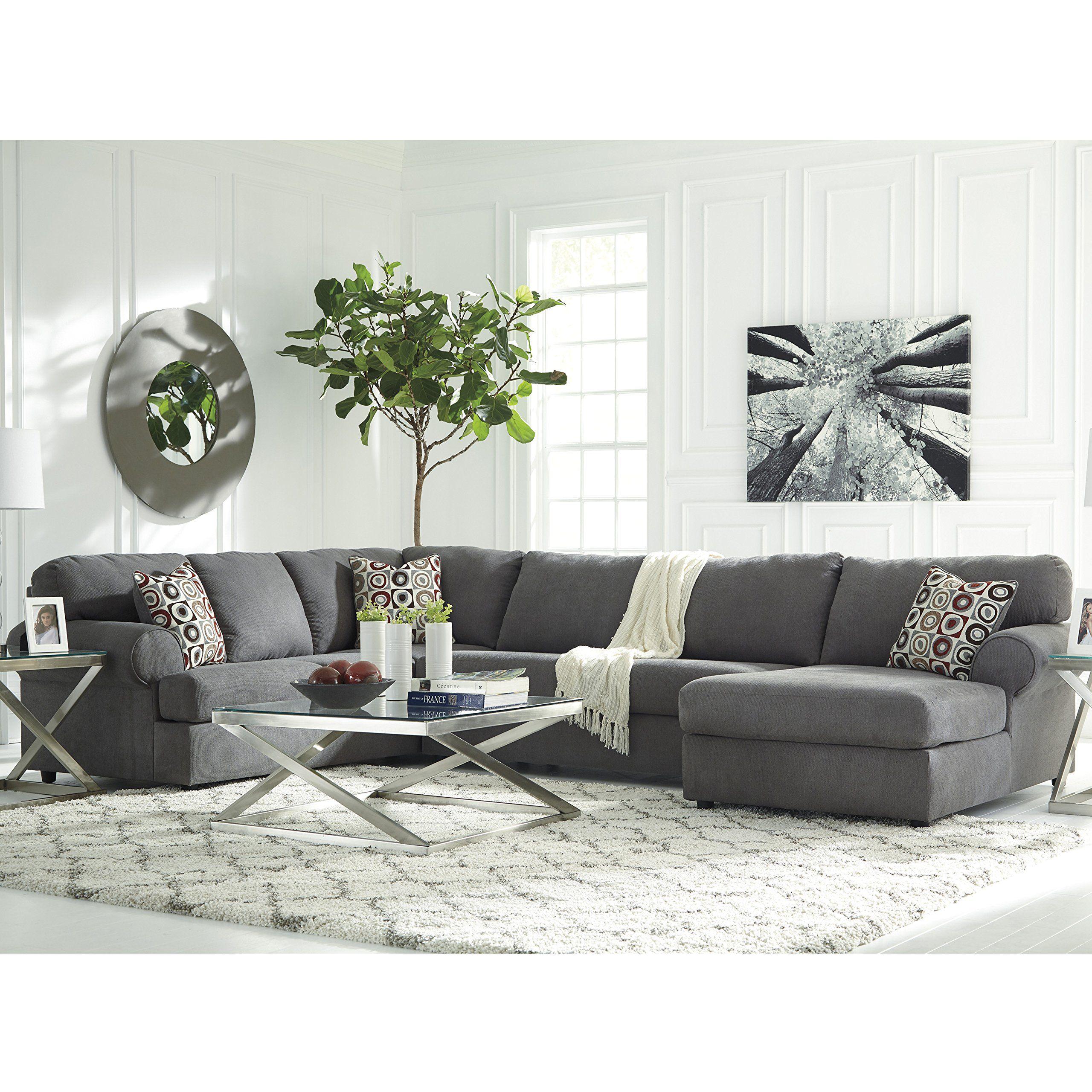 Flash Furniture Signature Design By Ashley Jayceon 3 Piece Laf  ~ Ashley Laf Sofa Sectional