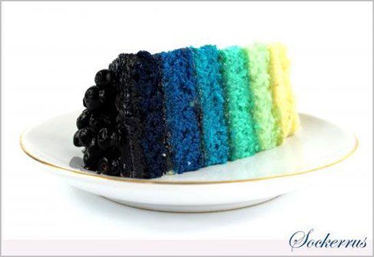 torta azul