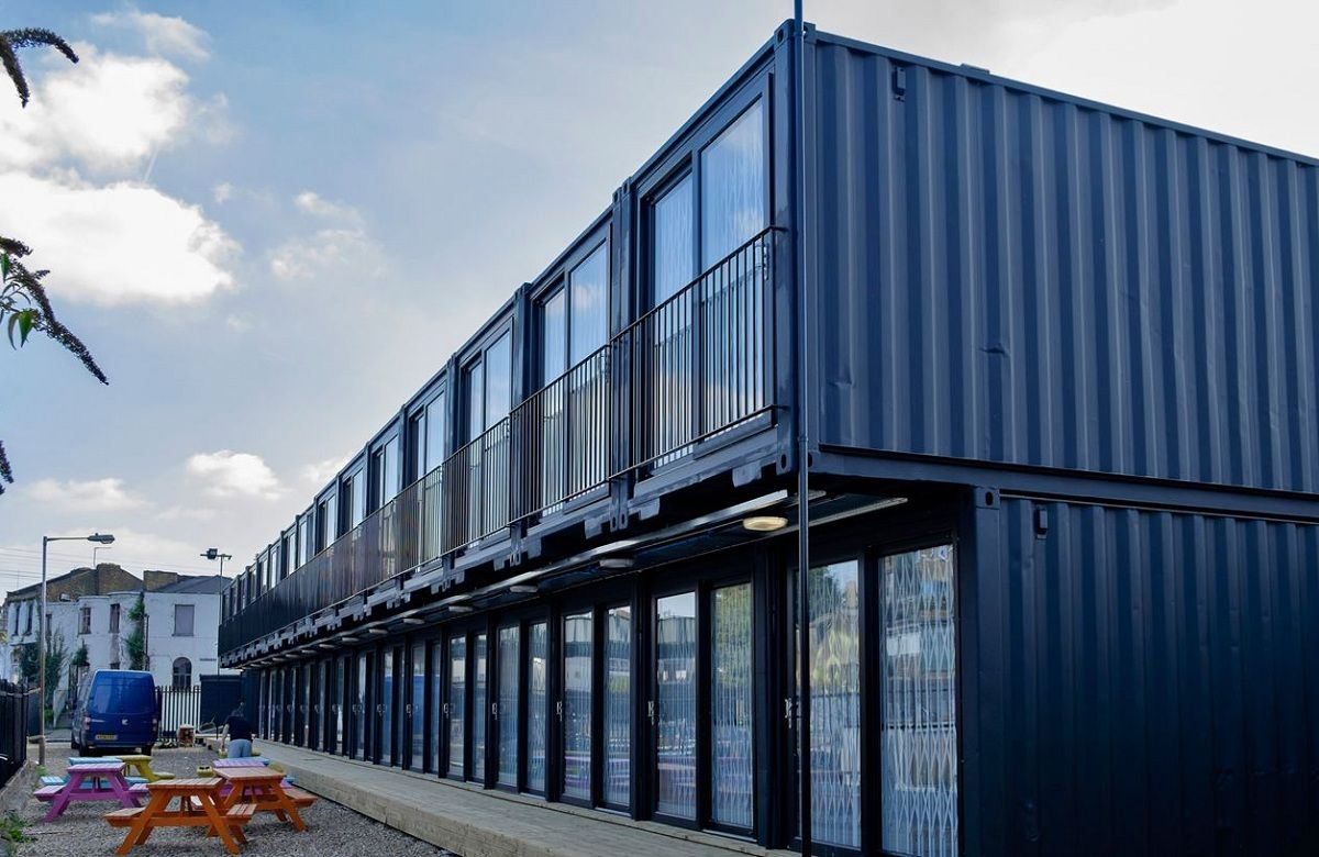 Homebox Le Havre Containerville London S Shipping Container Office Space מכולות