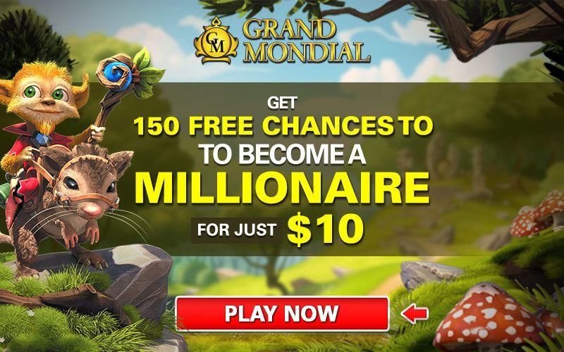 150 Free Spins At Grand Mondial Casino Casino Rewards Group