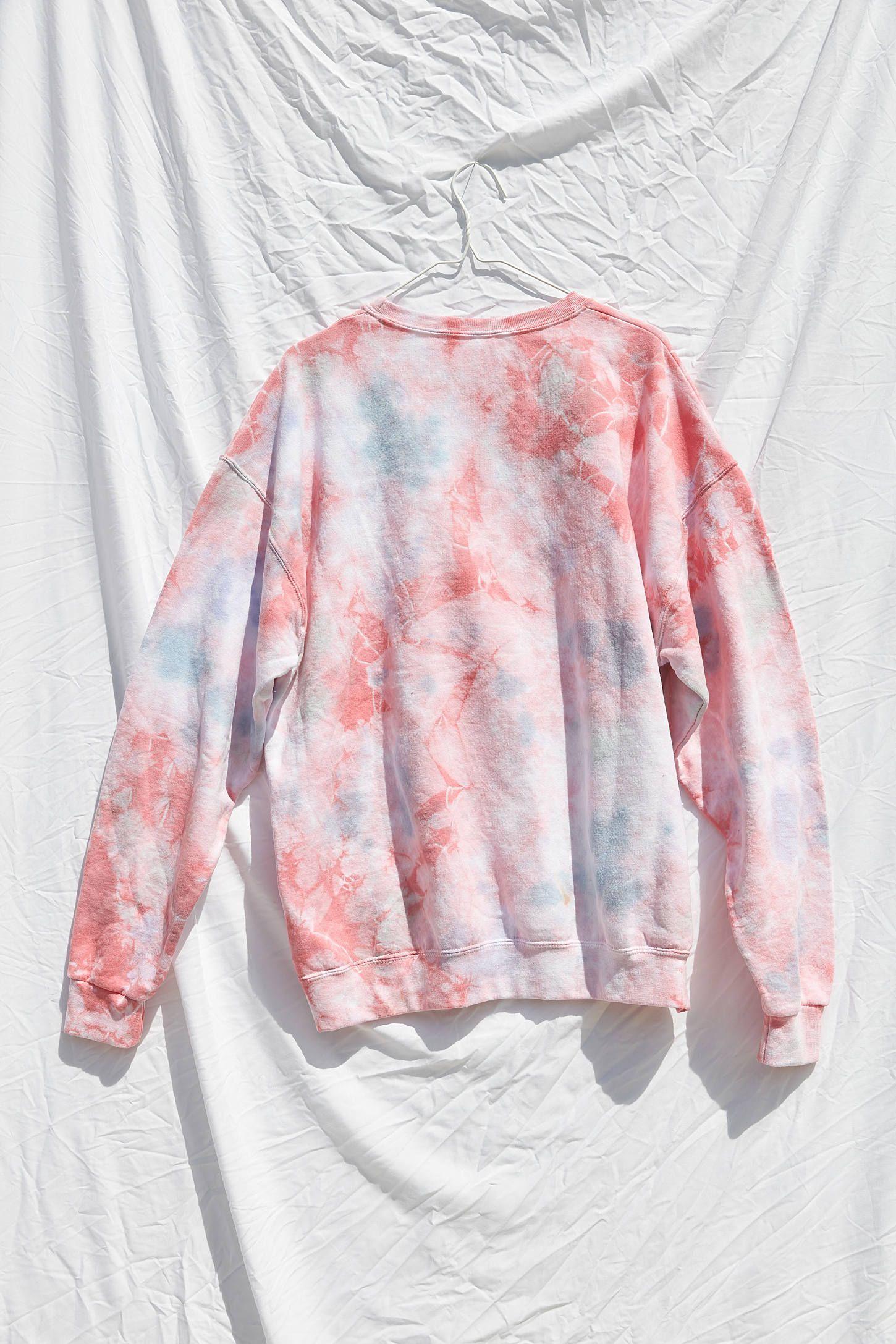 Urban Renewal Recycled Cosmic Tie Dye Crew Neck Sweatshirt Tie Dye Shirts Tie Dye Crew Neck Sweatshirt [ 2175 x 1450 Pixel ]