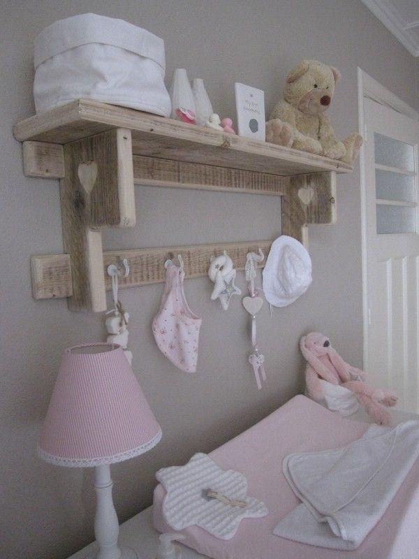 "wandrek ""lotje"" leuk voor in de babykamer | wandrek/ keukenrek, Deco ideeën"