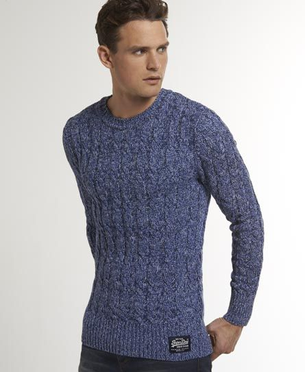 7e5104b756f Superdry Summer Jacob Knit | My style | Mens jumpers, Men sweater, Men