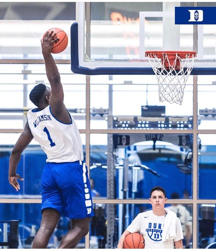 Zion Williamson Kentucky College Basketball Duke Basketball Basketball Star