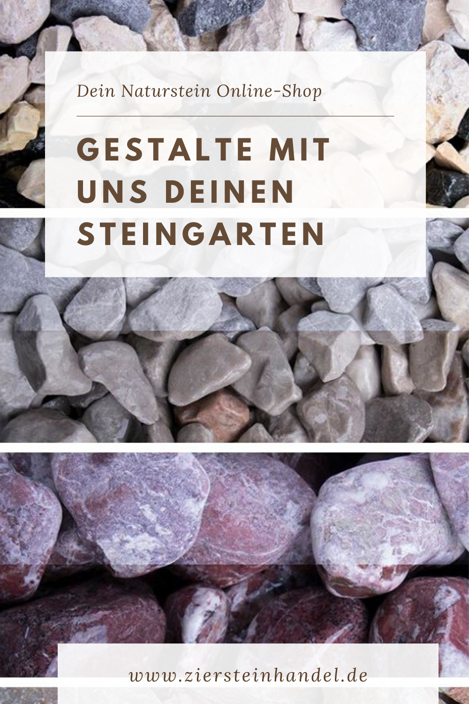 Gartengestaltung Mit Natursteinen In 2020 Steingarten Dekosteine Garten Natursteine