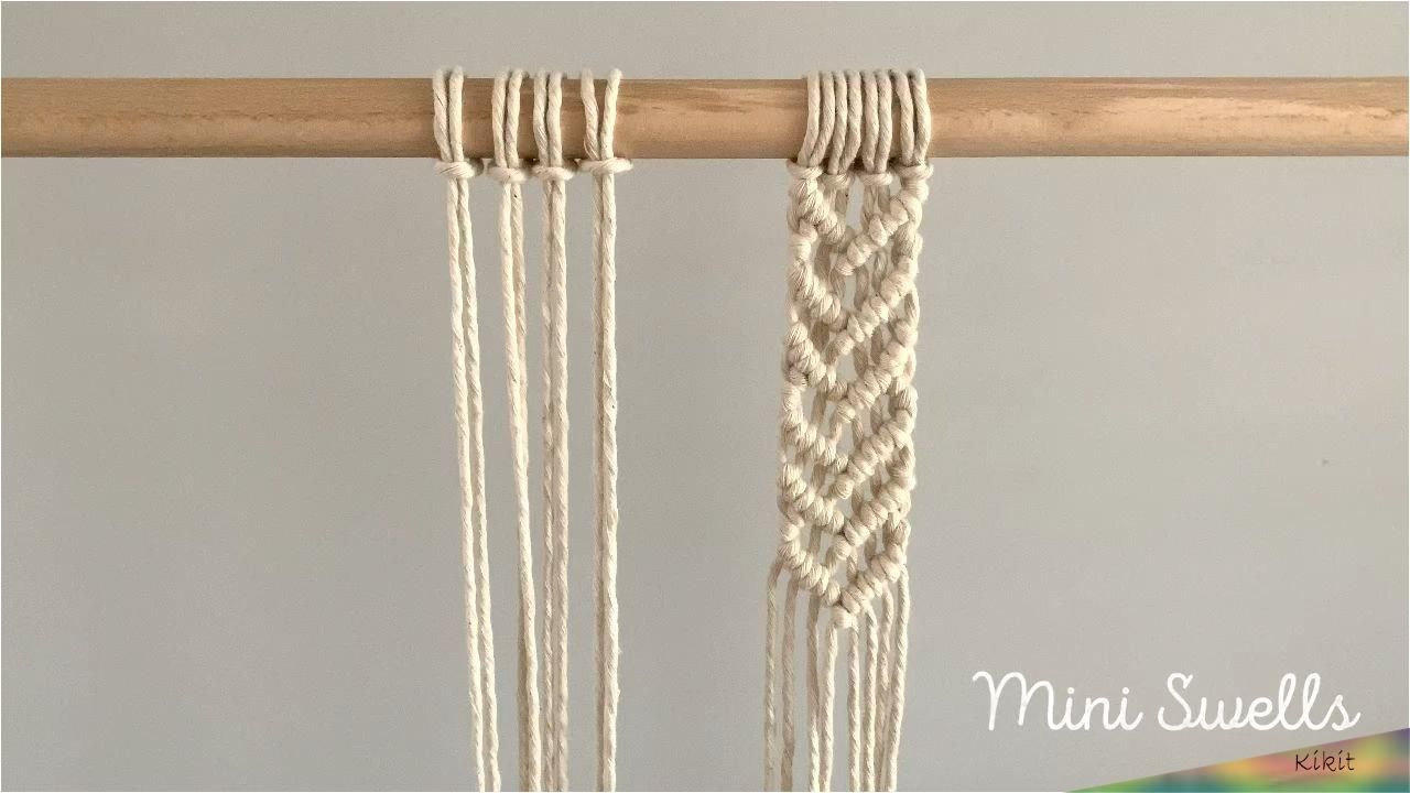 07.Şub.2020 - A fun & easy pattern for any macrame project. For more inspiration or fiber art supplies check out our shop. #macrame #macrameknots #macrametutorial #diymacrame #learnmacrame #beginnersmacrame #macramewallart #macrameart #macrameinspiration #macramepattern #macrameprojects #diyhomedecor