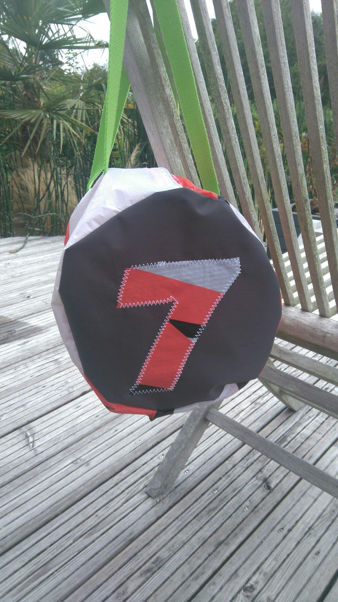 Sac polochon voile kite surf number 7