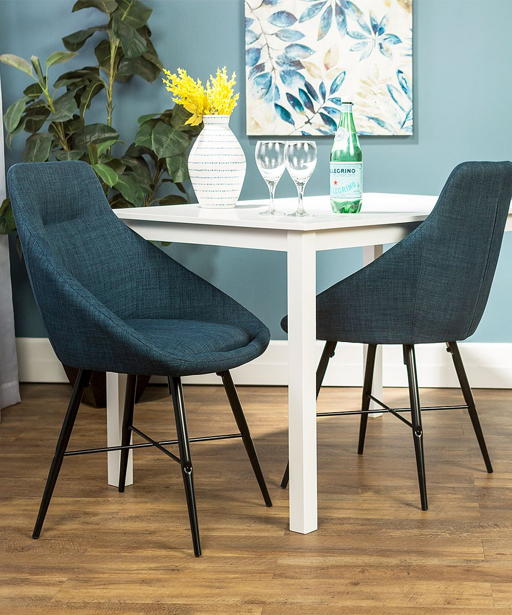 Blue Urban Upholstered Side Chair - Set of Two
