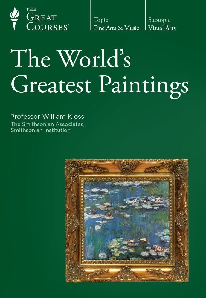 world s greatest paintings kloss teaching co great courses dvd rh pinterest co uk Guidebook Examples Guidebook Template