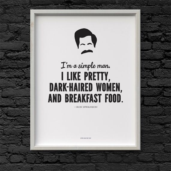 Breakfast Food Parks And Recreation quote iphone case