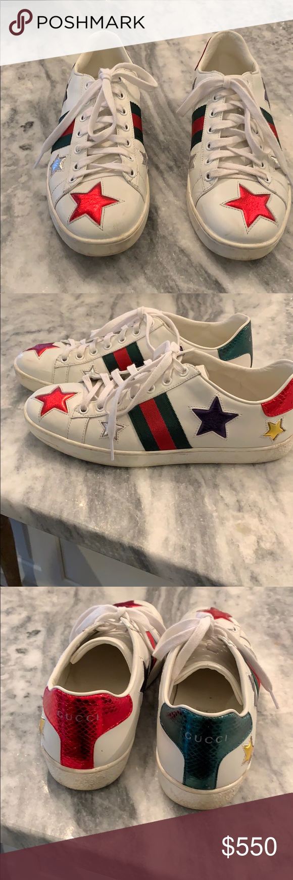 70833c795 Gucci ace sneakers Used 3 times very good condition Gucci Shoes Sneakers